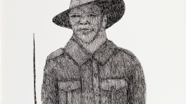 Harry Saunders 2/14th Australian infantry battalion killed in action Gona 29/11/1942